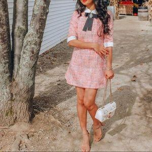 Chicwish tweed dress